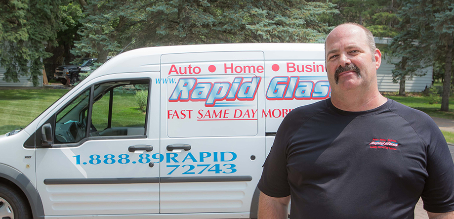 rapid glass owner, quality same day mobile service