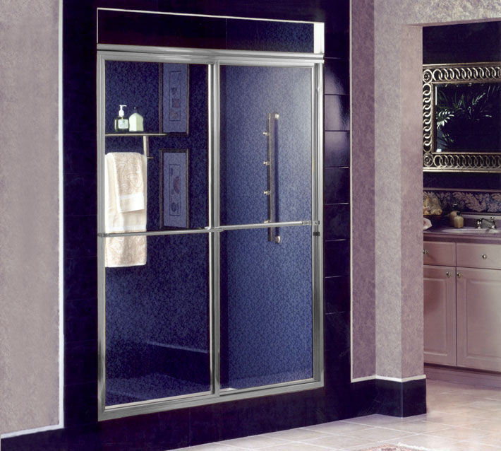 Sliding and Bypass Shower Doors