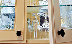 Home Glass cabinet door inserts