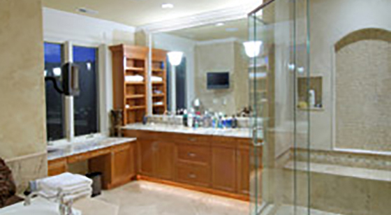 Home Glass custom frameless shower door